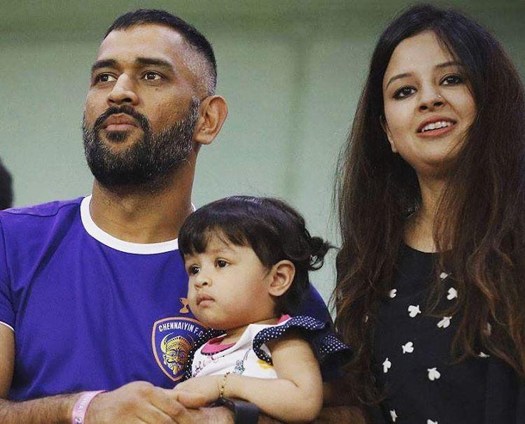 Mahendra Singh Dhoni family